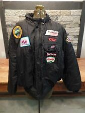 Swingster Race Jacket K-Motion Engines Kawasaki Indy 500 Sinclair TRW Porsche XL