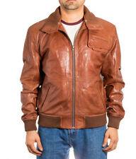 Pilot Leather Bomber, Harrington Coats & Jackets for Men