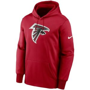 New 2021 NFL Atlanta Falcons Nike Fan Gear Primary Logo Therma Pullover Hoodie