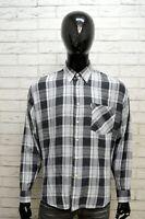 Camicia Uomo FILA Taglia Size XL Chemise Maglia Shirt Man Stretch Cotone