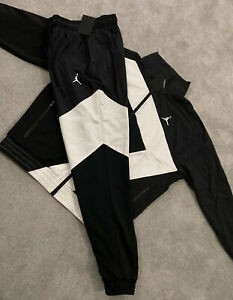 Mens Nike Jordan MJ Wings Diamond Tracksuit SET FZ Retro Track Jacket & Bottoms