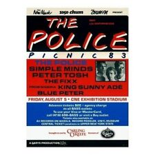 1983 The Police Picnic  in Toronto at The CNE Vintage Concert Ad