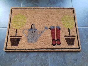 Door Mat Welcome Mat Indoor Outdoor Coir Mat