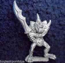 1994 caos plaguebearer 2 demonio menor de Nurgle Citadel Warhammer army Demonio
