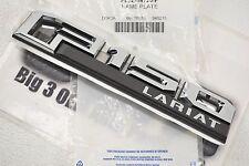 15-16 Ford F-150 Lariat Left Fender Nameplate Emblem Chrome new OEM FL3Z-16720-F