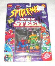 Spider-Man Web of Steel - Spider-Man vs. Dr. Octopus - MOC 100% (TOY BIZ)