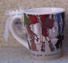 Jumbo Coffee Mug Keep Standards High Heels Higher NEW 24 ounce cup with gift box