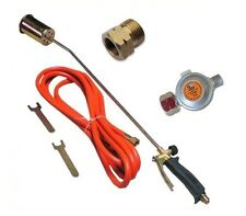 58KW Brenner Gasbrenner Regler Abflammgerät Unkrautvernichter Dachbrenner ø60 mm