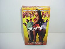 Bachelor Party Overexposed VHS Video Tape Movie Shawn Shafer Janelle Sampson
