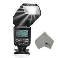 Voeloon V760 i-TTL LCD Screen Display HSS Blitzger?t Flash für Nikon D3000 D5000