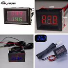 Waterproof Thermometer LED Display Dual Digital Temperature Sensor 1m NTC Probe
