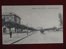 FERRARA Fuori Porta Po, Viale della Stazione - carrozza, anim, viagg, 1917#15289