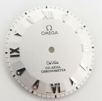 .Auth Omega DeVille Co Axial Chronometer Pie Pan Dial