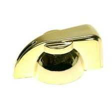 "Chicken head pointer amp knob set screw 1/4"" - gold"