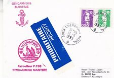 FRENCH POLICE BOAT LA COMBATTANTE A SHIPS CACHED CARD