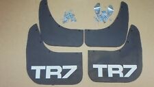 Triumph TR7 ** MUDFLAP Set, Pair of fronts, Pair of rears ** including fixings
