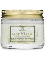 Tea Tree Oil Face Cream For Oily Acne Prone Skin 2oz Natural & Organic