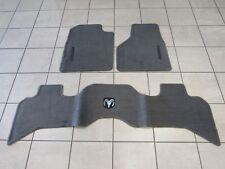 DODGE RAM 1500 2500  Front & Rear Premium Taupe Carpet Floor Mats NEW OEM MOPAR