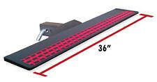 "Broadfeet Heavy Duty R88 Black Hitch Step 6"" Flat 36"" Long For 2"" Receiver"