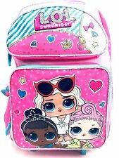 "LOL SURPRISE! Large 16"" inches Rolling Backpack - New Licensed Product with Tags"
