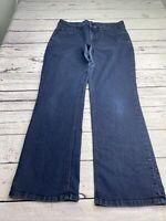 NYDJ $120 Hayden Bootcut Dark Wash Jeans Sz 16W Lift Tuck Technology W10032