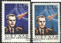 Vietnam 181-182 (kompl.Ausg.) postfrisch 1961 2. Weltraumflug durch G. Titow