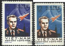Vietnam 181-182 (complete issue) unmounted mint / never hinged 1961 2. Space fli
