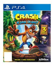 Activision Crash Bandicoot Remastered N-sane Trilogy 2017, PS4