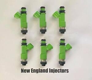 Reman Denso Set of 6 Fuel Injectors Subaru Legacy Outback 10-14 Tribeca