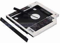 2nd HD Hard Drive SSD HDD Caddy for Asus F555L G551VW N551VW N552VW-FW055T X542U