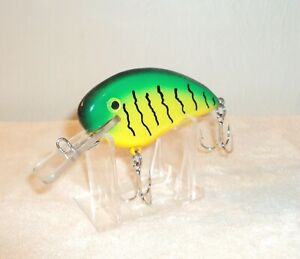 """DW 000 Shad Regular - Custom Muskie Musky Lure by Danny Wade in """"Fire Tiger OS"""""""