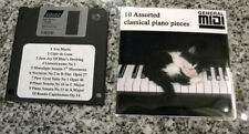 10 Assorted Classical Piano Music for Yamaha Disklavier & GM MIDI Player Pianos