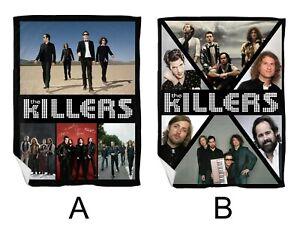 "The Killers Brandon Flowers Large Flannel Blanket 150 X 200cm (60"" X 78"")"