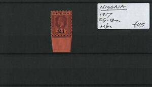 Nigeria 1917 SG.12a M/M