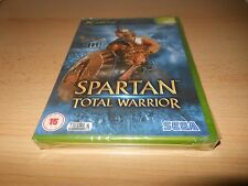 * SPARTAN TOTAL WARRIOR * NEW SEALED xbox pal
