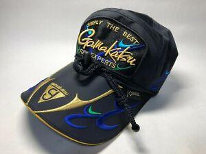 Gamakatsu Emblem Gore-tex Cap L size GM9818 Black x Blue