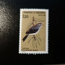 ANDORRA FRENCH N°294 PROTECTION NATURE BIRDS NEUF MNH