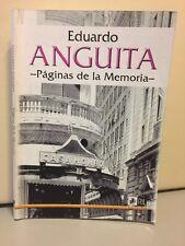 Paginas De La Memoria Eduardo Anguita Paperback 2002