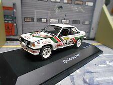OPEL Ascona B 400 Rallye Akai Kristiansen DRM 1981 #4 Schuco RAR  1:43