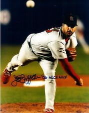 Jeff Suppan Autographed Photograph with '06 NLCS MVP Inscription and COA