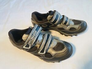 Specialized Cycling Shoes Mens 8.5 Grey & Black EUR 41 ~6102-5445 Cycling Bike
