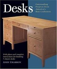 Desks: With Plans and Complete Instructions for Building Seven Classic Desks Pr