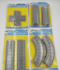4 Packs LIONEL IMAGINEERING Straight Incline Crossover & Curve Track packs NEW