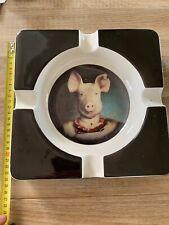 Rare Cendrier Cochon Kare Design/vide Poche ...