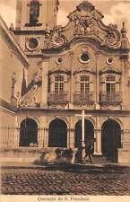 Pernambuco Brazil Convento de S Francisco Antique Postcard J49360