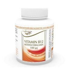 Vita World Vitamin B12 Methylcobalamin 100mcg 180 Tabletten Made in Germany