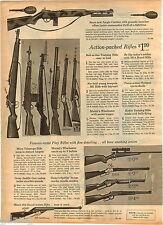 1964 ADVERT Toy Play Guns M1 Rifle Marx Daisy Saddle Mattel's Jungle Carbine