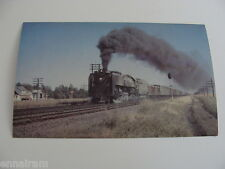 Northern Railroad 829 coal burner converted to oil RR Postcard unused oversized