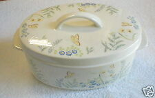 "LENOX CINDERELLA OVEN TO TABLE 11"" OVAL CASSEROLE"