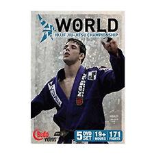 """2012 World Jiu-jitsu Championship 5 DVD Set Marcus """"Buchecha"""" Almeida CAIO T"""